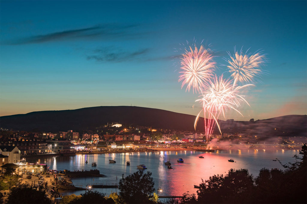 Swanage Fireworks by Jamie Sayer