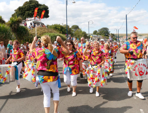 Thousands Attend Swanage Carnival