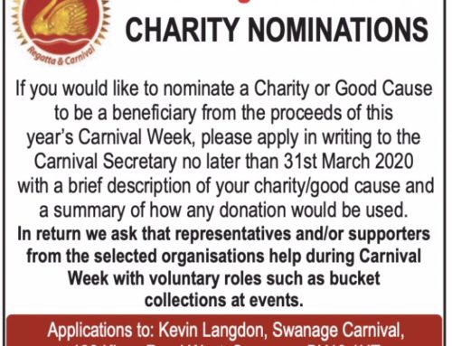 Charity Nominations